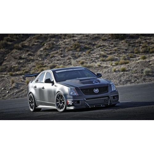 APR GTC-500 2009-up Cadillac CTS-V Sedan Carbon Fiber Adjustable Wing