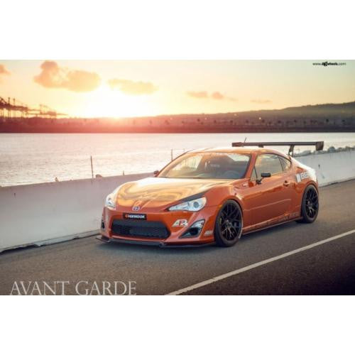 "APR GTC-250 2013-up Scion FR-S/Subaru BRZ Carbon Fiber Adjustable Wing 67"" Airfoils"