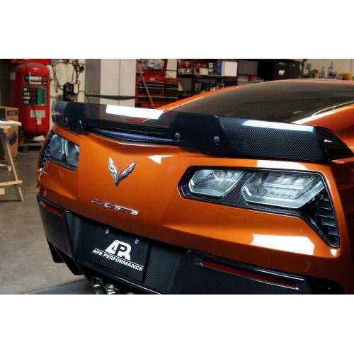 Carbon Fiber Tail light Bezel 2014-2016 Chevrolet Corvette C7/Z06 C7