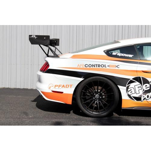 "APR GTC-200 2015-up Ford Mustang Carbon Fiber Adjustable Wing 67"" Airfoils"