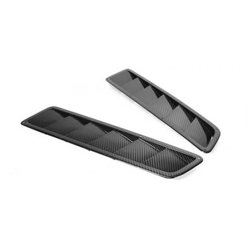 APR Carbon Fiber Universal Hood Vents Narrow (pair)