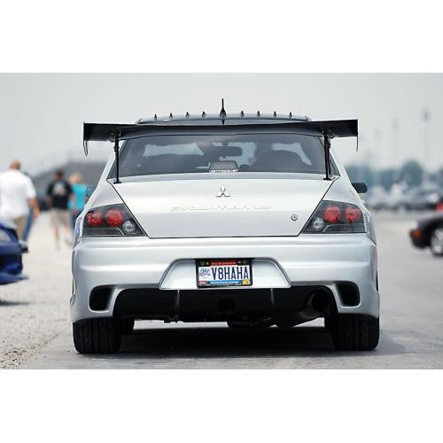 "APR GTC-300 2003-2007 Mitsubishi Evolution 8/9 Carbon Fiber Adjustable Wing 61"" Airfoils"
