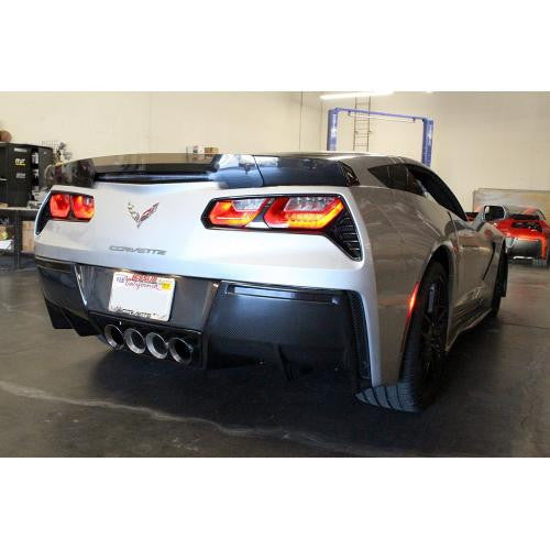 APR Carbon Fiber Rear Deck Spoiler 2014-up Chevrolet Corvette C7 Track Pack Version 2 (Fits C7 Stingray Only)