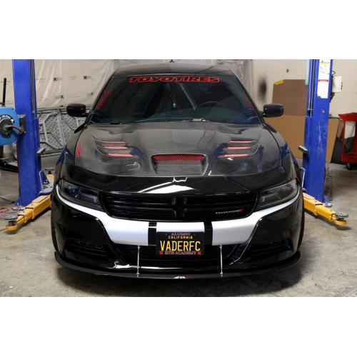APR Carbon Fiber Wind Splitter 2015-up Dodge Charger RT, SXT (Non SRT8)