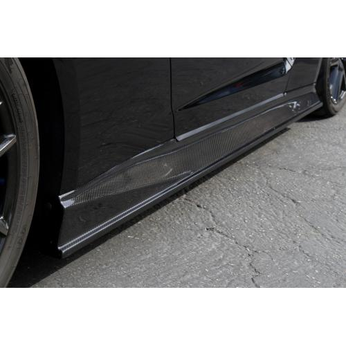 APR Carbon Fiber Side Rocker Extension 2017-up Nissan GT-R R35