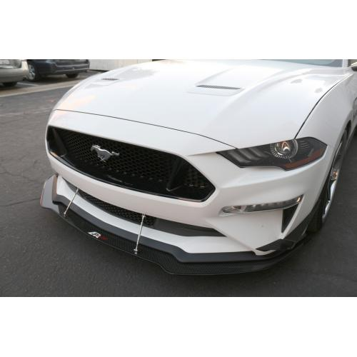 APR Carbon Fiber Wind Splitter 2018-up Mustang (Non Performance Package)