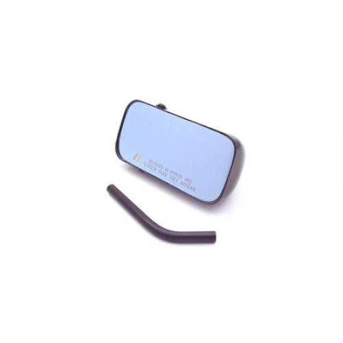 Universal Carbon Fiber Mirror/Blue Lens/Driver Side