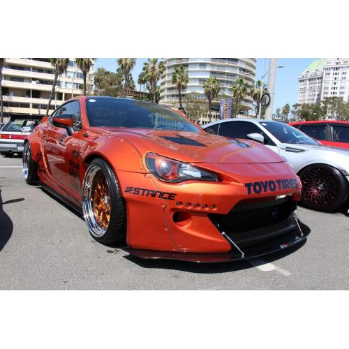 APR Carbon Fiber Wind Splitter 2013-2016 Scion FRS / Subaru BRZ Rocket Bunny Version 2
