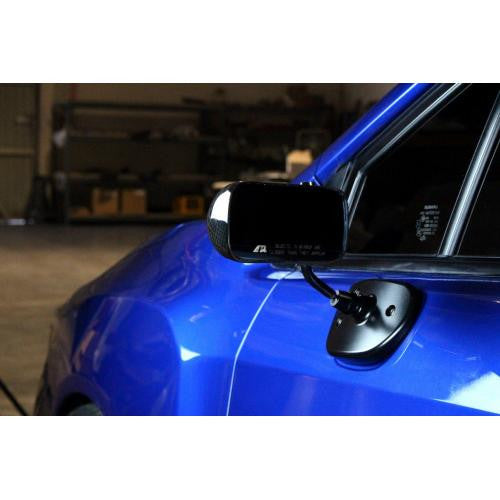 Carbon Fiber 2015-up Subaru WRX Formula 3 Mirror Black