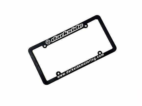 Darkside Motoring Ver 2 License Plate Frame