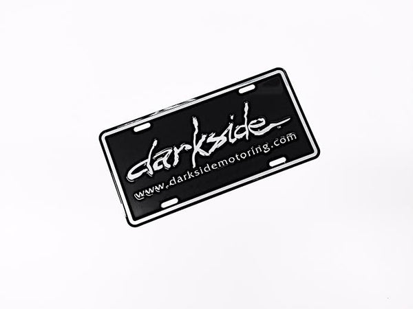 Darkside Motoring Metal License Plate Frame Insert