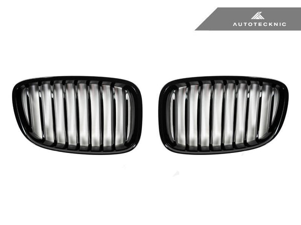 Autotecknic Replacement Glazing Black Front Grilles BMW F07 5 Series Gran Turismo