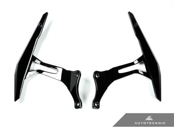 AutoTecknic Glazing Black Competition Shift Levers (Paddles) - Ferrari 458 Italia / Spider