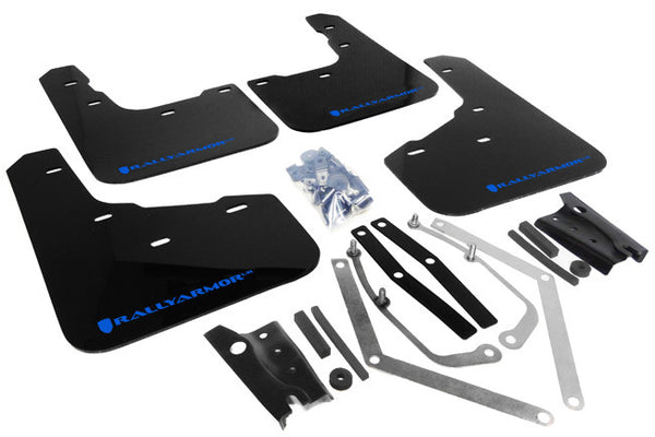 Rally Armor 2013-2019 Ford Fiesta ST Mud Flaps Blue Logo