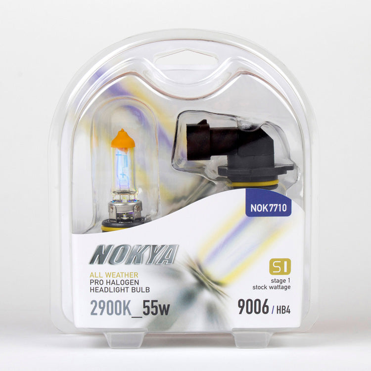 Nokya All Weather 2900K Stage 1 Halogen Bulb 9006/HB4 55W