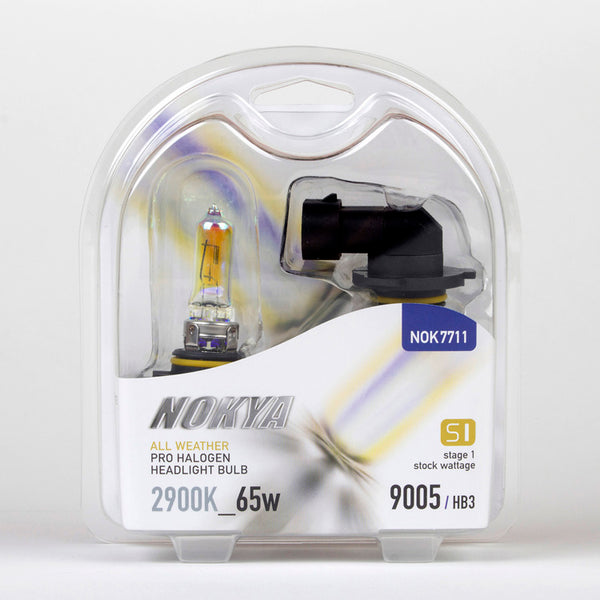 Nokya All Weather 2900K Stage 1 Halogen Bulb 9005/HB3 65W