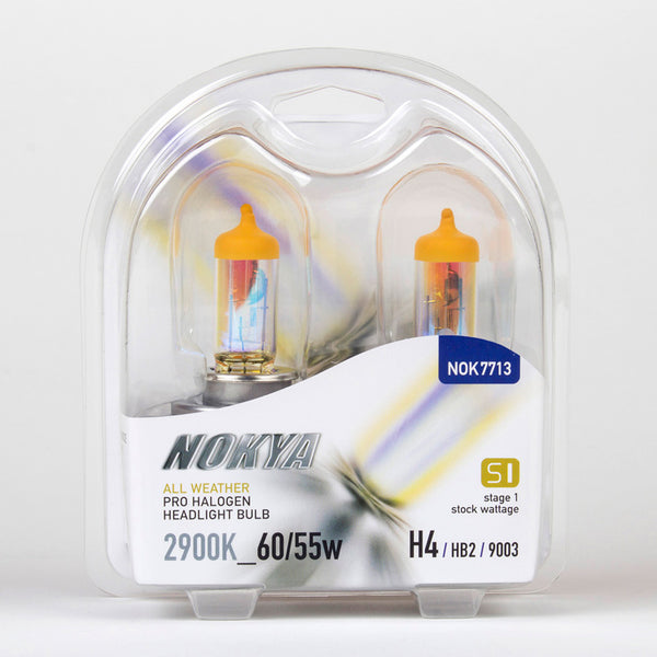 Nokya All Weather 2900K Stage 1 Halogen Bulb 9003/H4/HB2 60/55w