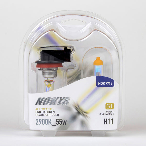 Nokya All Weather 2900K Stage 1 Halogen Bulb H11 55w