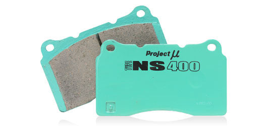 Project Mu NS 400 Brake Pads 1991-2005 Acura NSX / 1997-2001 Acura Integra Type-R / 1993-1996 Prelude Vtec (front)