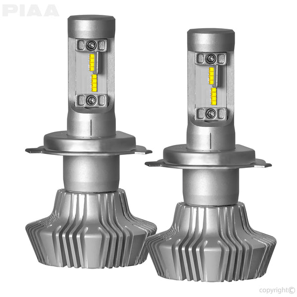 PIAA Platinum H4 (9003) LED Bulb Twin Pack