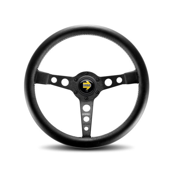Momo Prototipo Black/Black Steering Wheel 350mm