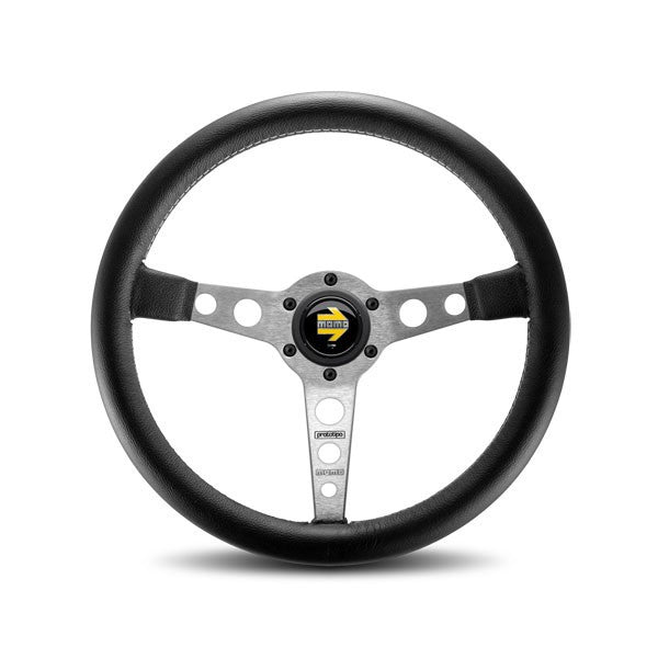Momo Prototipo Black/Silver Steering Wheel 350mm
