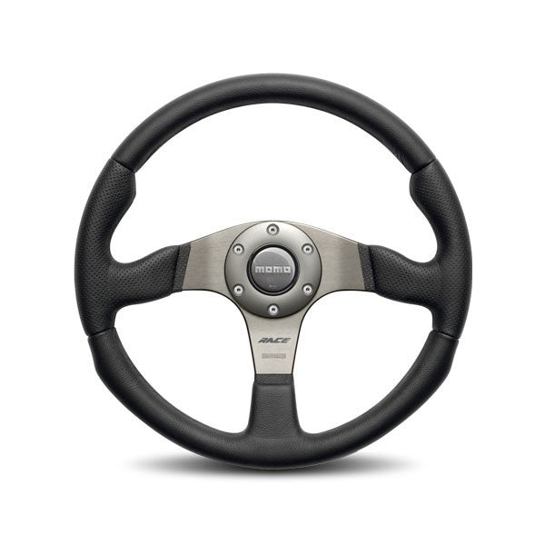 Momo Race Black/Gray Steering Wheel 320mm