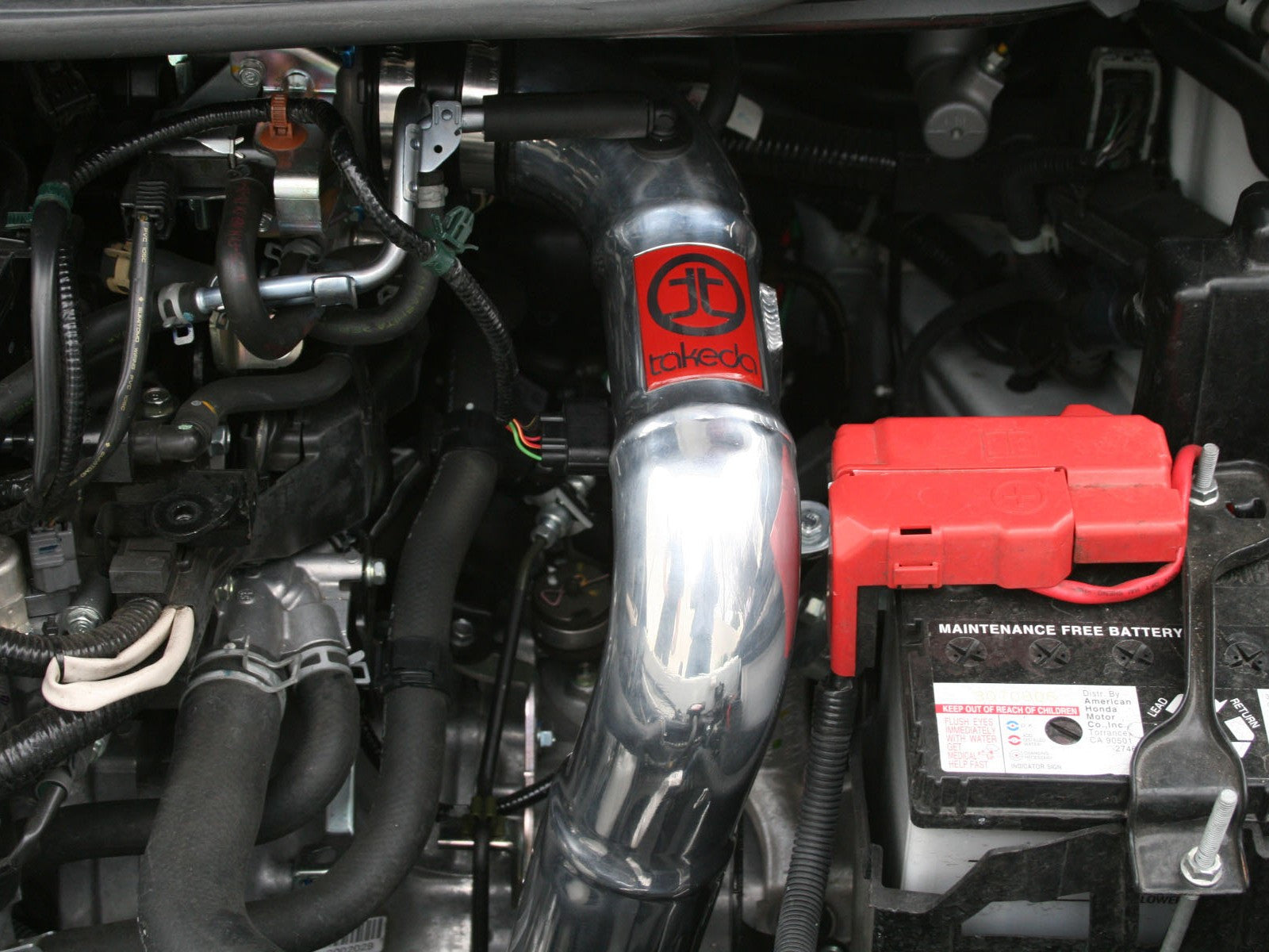 ... Takeda Stage 2 Dry Attack Cold Air Intake 2009-13 Honda Fit 1.5L (