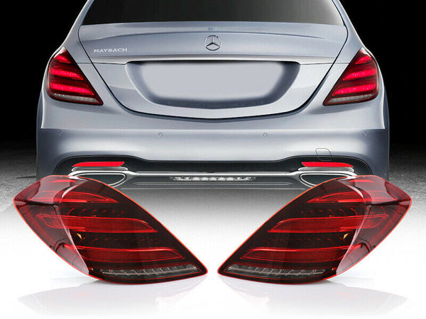 2014-2017 Mercedes Benz W222 S Class Facelift Style Full LED Tail Lights