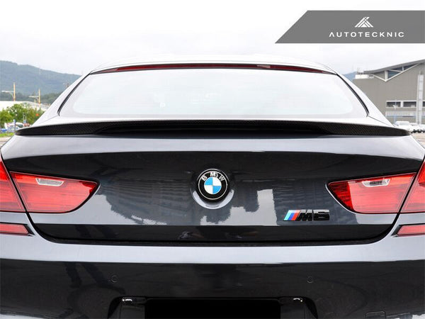 AutoTecknic Vacuumed Carbon Fiber Performante Trunk Spoiler BMW F06/ F13 6-Series & M6