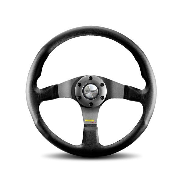 Momo Tuner Silver Steering Wheel 350mm