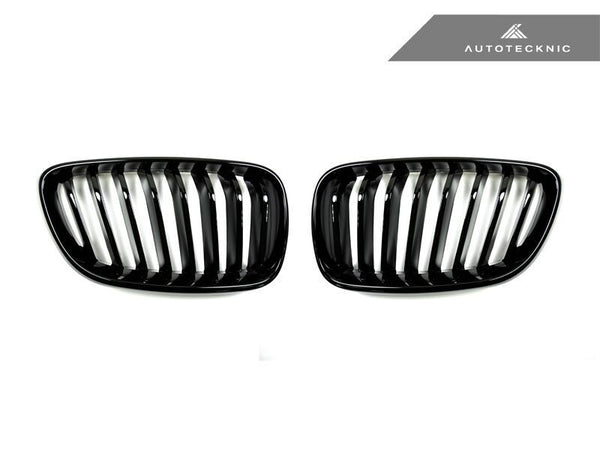 Autotecknic Replacement Glazing Black Front Grilles BMW F22 2-Series Coupe