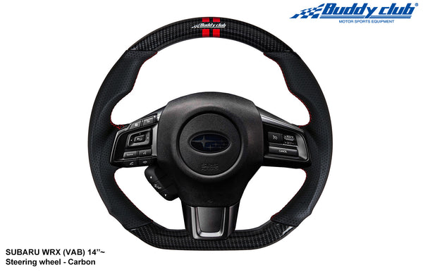 Buddy Club Racing Spec Steering Wheel Carbon 2015+ Subaru WRX/STI