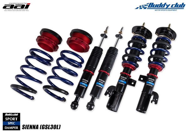 Buddy Club Sport Spec Dampers 2010+ Toyota Sienna
