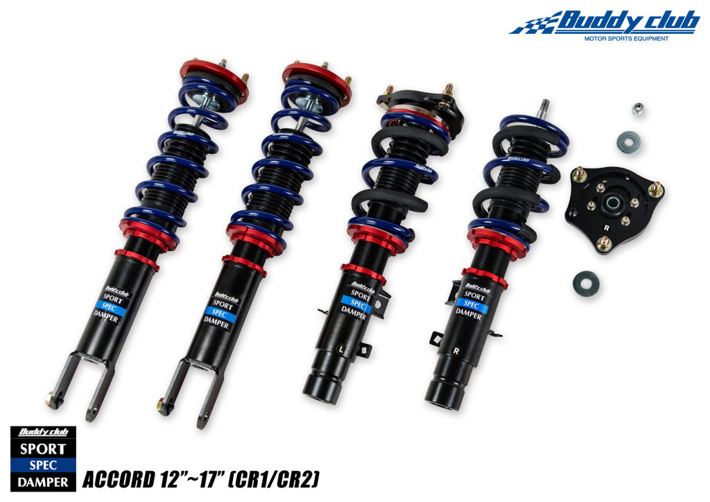 Buddy Club Sport Spec Dampers 2012-2017 Honda Accord (CR1/CR2)