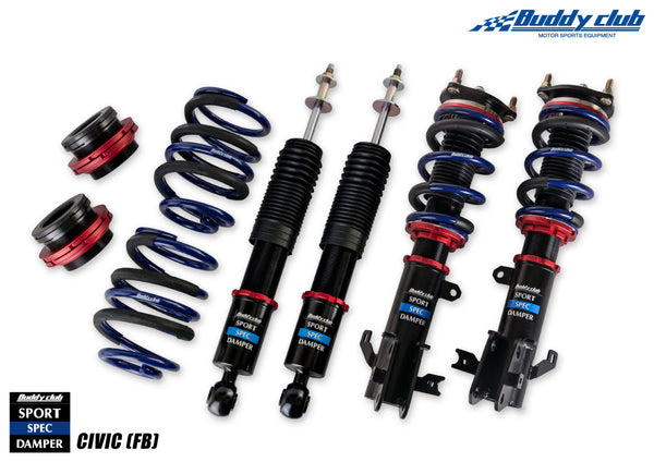 Buddy Club Sport Spec Dampers 2014-2015 Honda Civic Si (FB6)