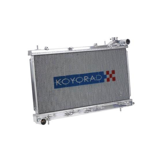 Koyo 36mm Racing Radiator 1999-01 Subaru Impreza RS/Outback/L (2.2/2.5L, MT) 1999-02 Forester 2.5L, MT (Incl. Forester S and L)