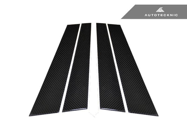 Autotecknic Carbon Fiber B-PIillar Covers 2010-2016 BMW 5 Series F10