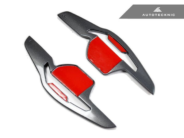 Autotecknic Competition Steering Shift Paddles (Steel Gray) - Audi DSG Vehicles.