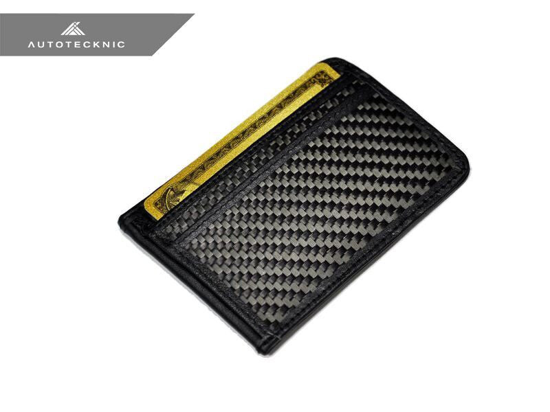 AUTOTECKNIC CARBON FIBER LEATHER BILL CARD HOLDER