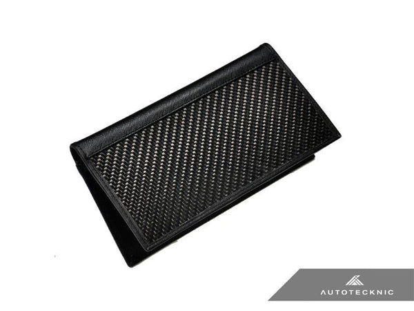 AUTOTECKNIC CARBON FIBER LEATHER CHECKBOOK HOLDER