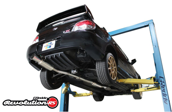 Greddy Revolution RS Exhaust 2002-2007 Subaru WRX/STI