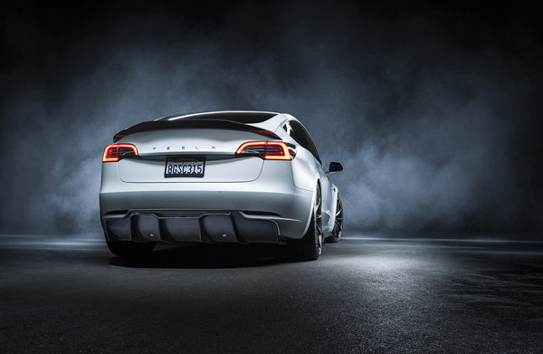 Vorsteiner 2017+ Tesla Model 3 Volta Rear Diffuser Carbon (Track Edition)