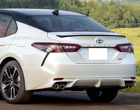 2018 Toyota Camry Factory Style Lip Spoiler (no light)