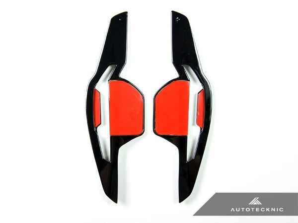 AutoTecknic Competition Steering Shift Paddles (Glazing Black) 2006-2012 Audi DSG Vehicles.