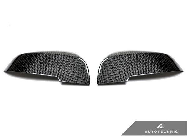 Autotecknic Replacement Carbon Fiber Mirror Covers BMW E84 X1 / F20 1 Series / F22 2 Series / F30 3 Series