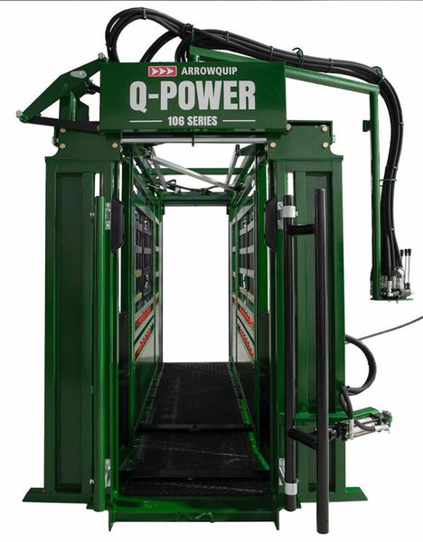 Q-Power 106 Series Hydraulic Squeeze Chute