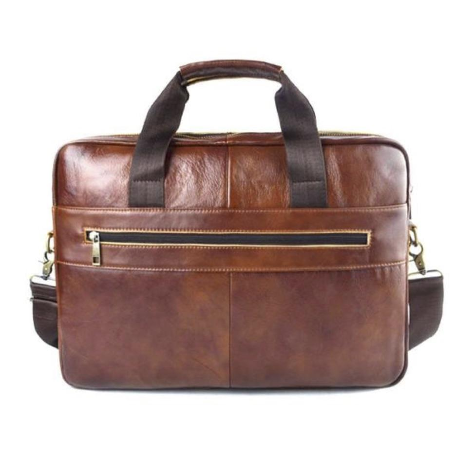 AETOO Genuine Leather genuine leather laptop bag