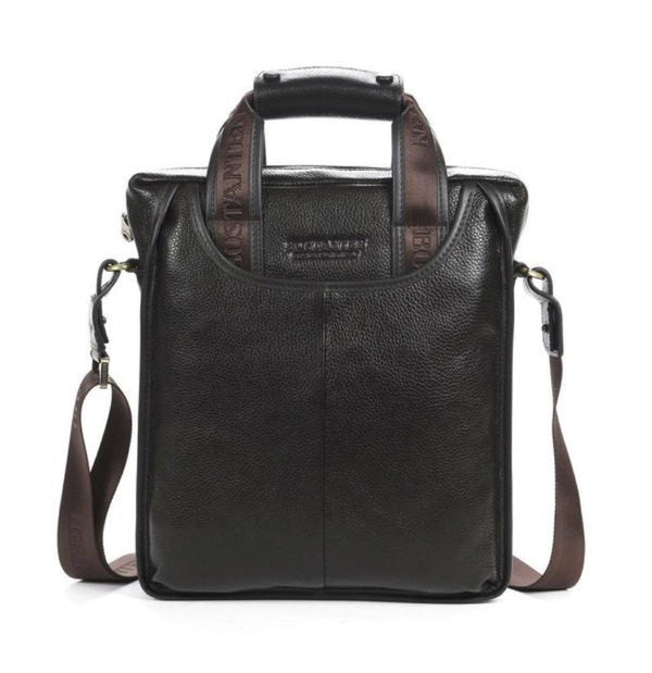 Bostanten 100% Top GENUINE LEATHER Messenger Bag | Rickshaw Journey