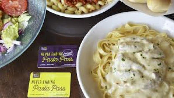 Get your Olive Garden Never Ending Pasta Pass | Rickshaw Journey